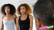 Black teens in trouble with their daddies fuck ...