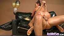 Big Wet Oiled Butt Girl (nikki benz) Get Analy Fucked vid-24's Thumb