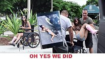 BANGBROS - Young Kimberly Costa Got Hit By A Car, So We Gave Her Some Dick To Feel Better