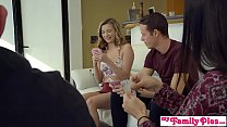 Myfamilypies - Stepsiblings Fuck During Family Game Night! S2:e4