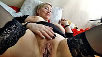 Why else would a mature whore have big nipples if not to pull her for them to heights of orgasm?