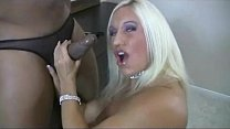 Blonde Pornstar Ashlee Chambers Slut for Big Black Cocks