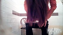 {young amateur teen} A young girl in leopard underwear. thumbnail