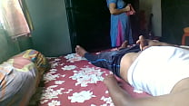 Flashing on real Indian maid with twist