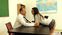 Seducing my mature teacher in detention (short ...