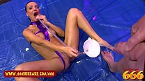 EXTREME PISS LOVER ELEN MILLION SOAKED AND SATISFIED