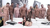 Squirt me a River - Super slut Veronica Avluv DOUBLE ANAL GANGBANG's Thumb