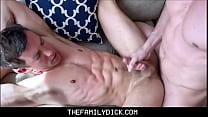 Hot Twink Stepbrother Isaac Parker Seduced And Family Fucked By Horny Blonde Stepbrother Johnny Ford During Online Presentation
