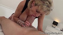 Lady Sonia giving a sensual handjob and blowjob - download porn videos