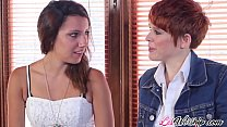 Dominant lesbian sex with Sophia Grace and Lily Cade