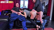 AMATEUR EURO - Dirty MILF Wife Eloa Lombard Tak...