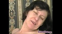 Horny Granny Riding On Some Hard Cock pornhub video