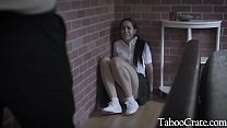 Hot Brunette Teen Goes To Counselor For Comfort