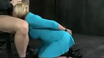 Big butt MILF chained to table and double fucked - 9Club.Top