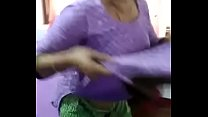 Indian aunty mani kaur remove clothes front of son