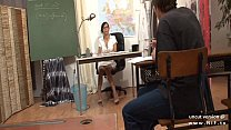 Gorgeous french teacher sodomized and facialize... thumb