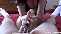 Locking your limp dick in chastity pornhub video