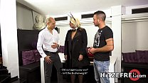 HITZEFREI Thick German blonde Tatjana Young gets fucked Vorschaubild