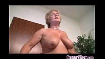 Blonde Grandma From Europe Gets Fucked
