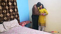 Indian college friend Shanaya aunty call at home and surprised fucked by her lover's Thumb
