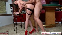 Chesty brunette gf Brooklyn Chase gets nailed thumbnail