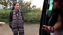 Pick-up Babe Likes getting Shaft in a Take Van thumbnail