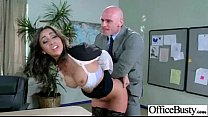 Sex Tape With Slut Busty Office Girl (stephani moretti) video-29