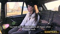 Hot Penelope gets banged in the backseat