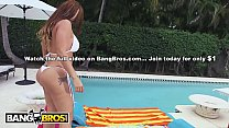 BANGBROS - Latina Lesbians Spicy J & Miss Raquel's Asstastic Day At The Beach Preview