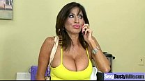 Performing Amazing Intercorse On Cam By Busty Mature Wife (tara holiday) clip-29