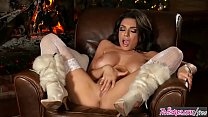 Twistys - Cozying Up To The Fire - Darcie Dolce thumbnail