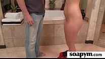 Soapy Massage and Shower Blowjob 7 pornhub video