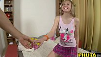 Fhuta - Amber Phillips gets her anus fingered a... Thumbnail