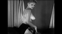 Vintage Cute Blonde Striptease