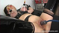 Pumped clit and squirting orgasm