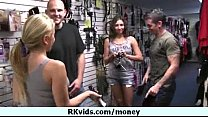 Pay for nudity and nice sex in public 18