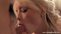 Elegant Blowjob Blonde Deep A deep cumshot is required for this ht blonde MILCum preview image