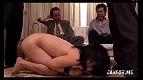 Forced by her husbands boss. Full video http://...