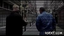 Concupiscent dude gets out and explores amsterdam redlight district Thumbnail