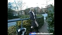 Sexy skinny mums public nudity and couragious downtown flashing of naughty nude Preview