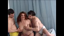 BBW in a nice threesome thumb