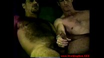 Hairy dirty exconvict giving cocksuck