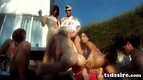 tranny pool party