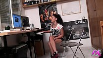 9395 18yo petite teen Vanessa knows how to get free stuff from dudes in her 'hood preview