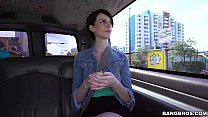 Shy Miami tourist does anal for cash on Bang Bus! (bb15125) Image