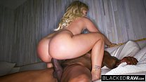 BLACKEDRAW Boyfriend with cuckold fantasy shares his blonde girlfriend porn thumbnail