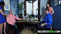 Dads drill Daughters before going to prison
