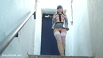 Naked Jeny Smith is Hiding and sneaking in the lost corridors - 9Club.Top