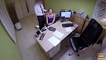 LOAN4K. Lustful manager bangs sexy teen client ... Thumbnail