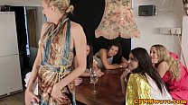 Femdom Group Give Humiliation Treatment